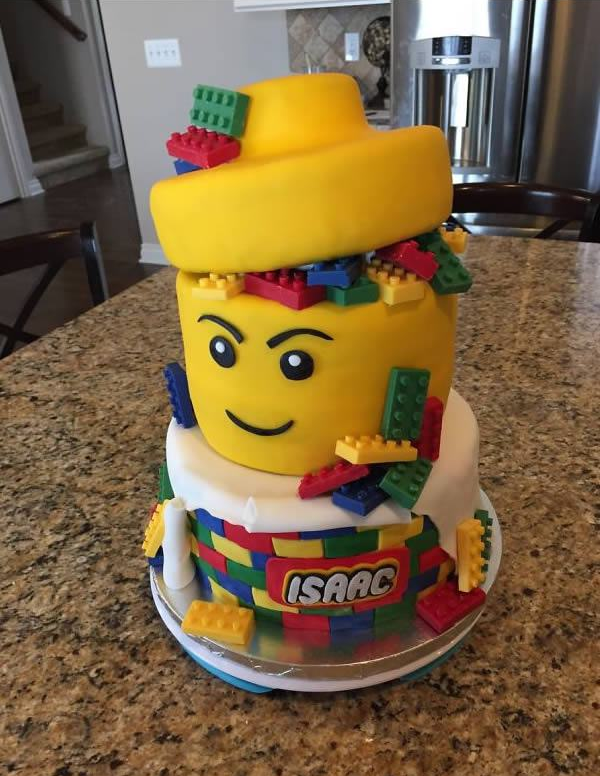 Outro Bolo de Lego