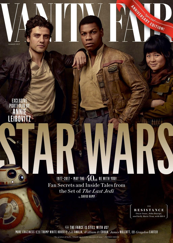 Star Wars Os Ultimos Jedi Ganha Capa De Revista Na Vanity Fair Deposito Nerd