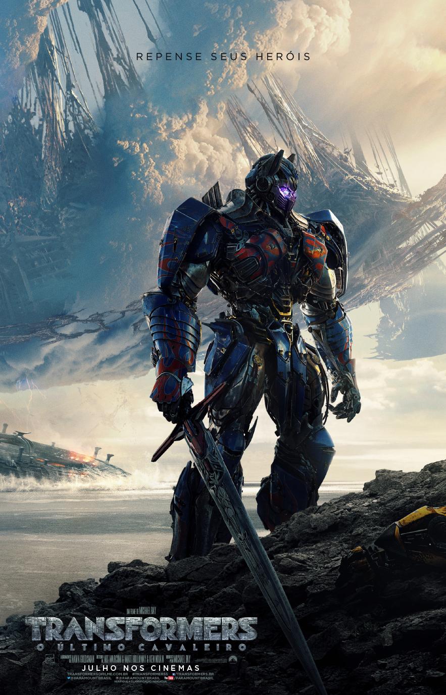 Novo trailer de Transformers: O Último Cavaleiro mostra Optimus Prime como uma ameaça!