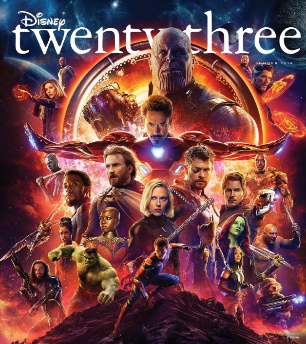 Vingadores: Guerra Infinita e Homem-Formiga e a Vespa ganham nova capa de revista e arte conceitual!