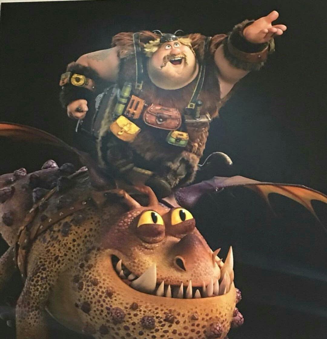 Revelado o visual dos personagens em Como Treinar o Seu Dragão 3!