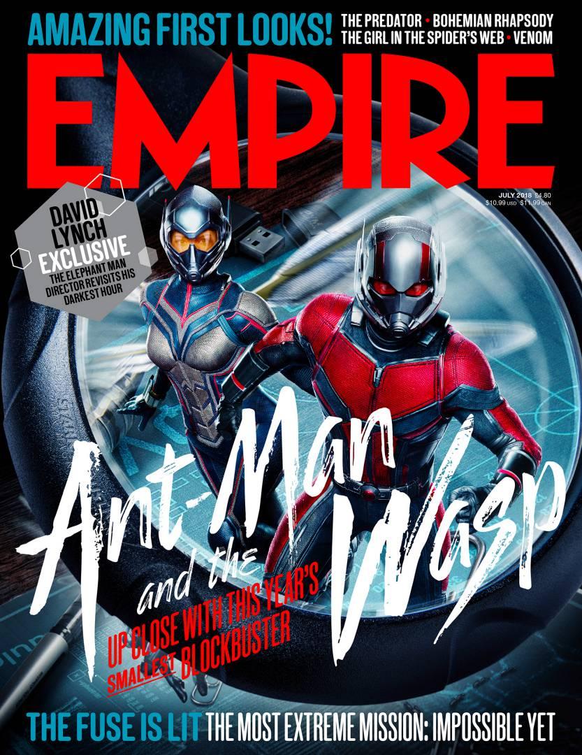 Homem-Formiga e a Vespa ganha novas imagens pela revista Empire!