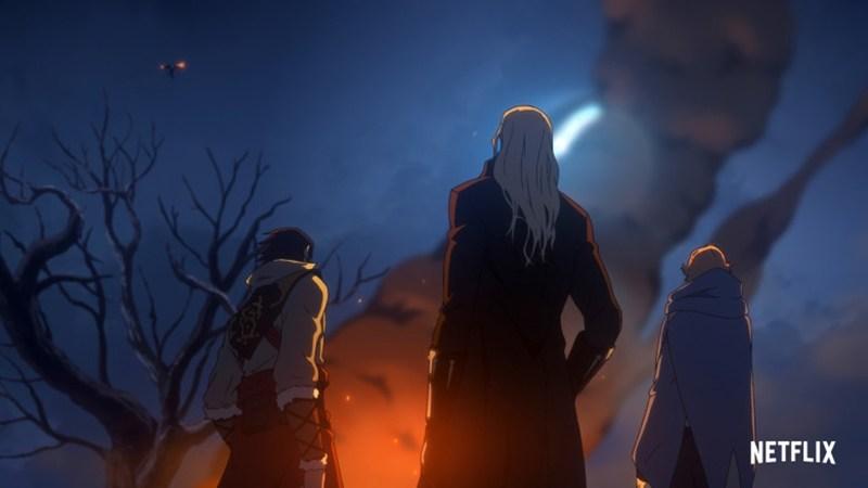 Divulgado novas imagens e a data de estreia da segunda temporada de Castlevania!