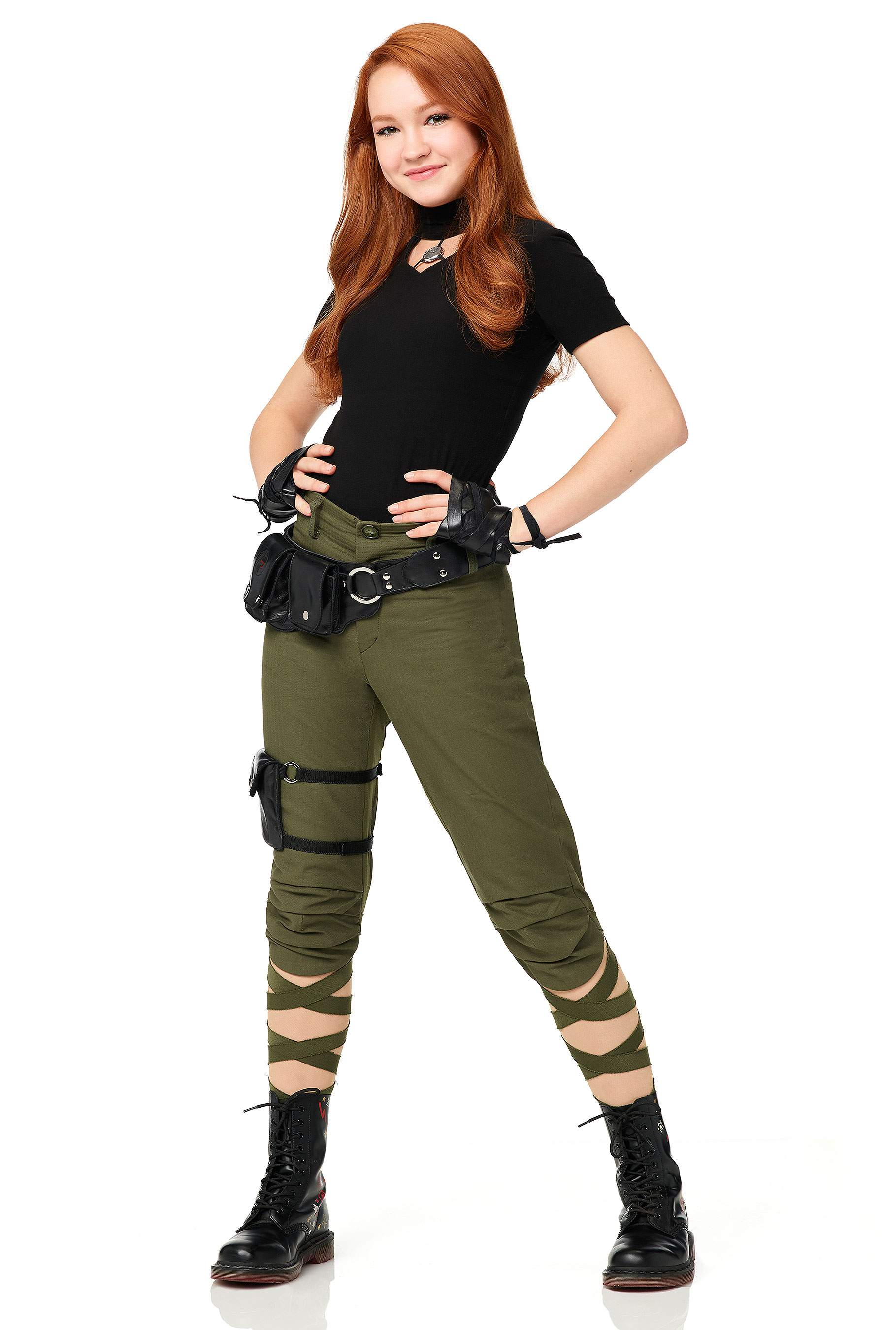 Revelado a primeira foto oficial do filme live-action de Kim Possible!