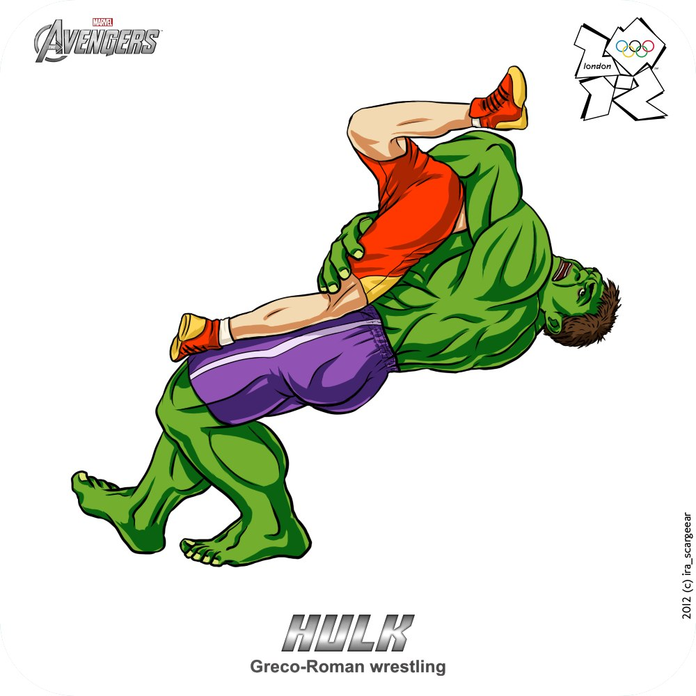 Olympic-Avengers-Hulk