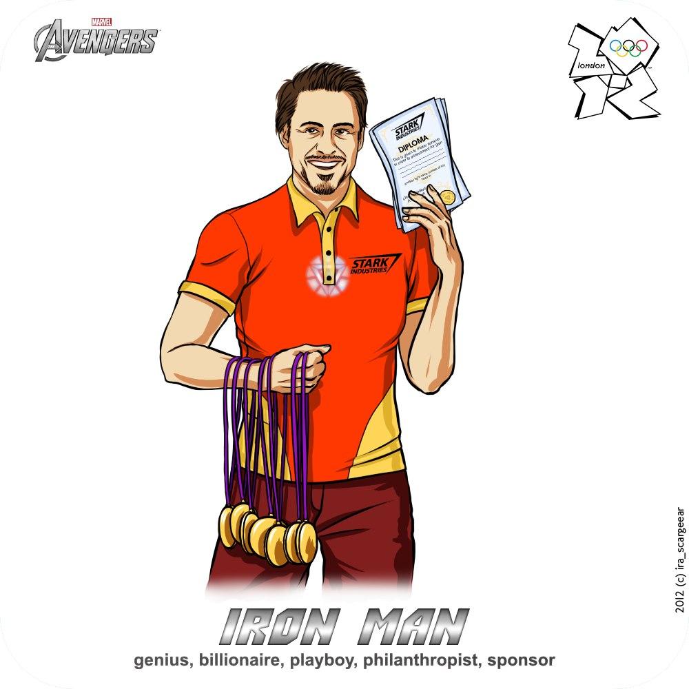 Olympic-Avengers-Iron-Man