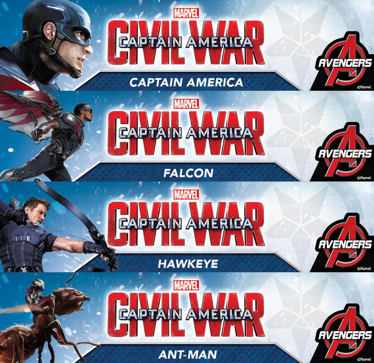Divulgados novos banners individuais do Capitão América: Guerra Civil