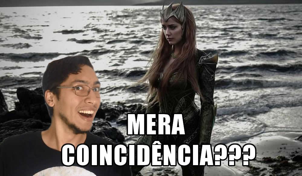 Mera coincidência na Liga da Justiça!