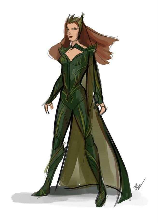 Divulgada a primeira imagem oficial de Amber Heard como Mera em Liga da Justiça!