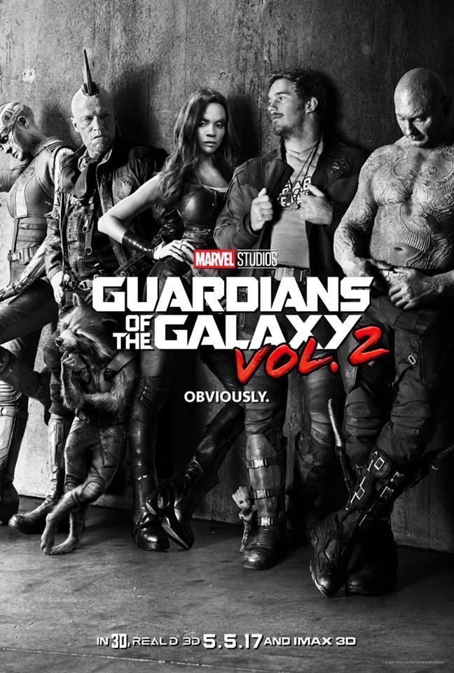 Divulgado o primeiro e incrível pôster do Guardiões da Galáxia Vol. 2