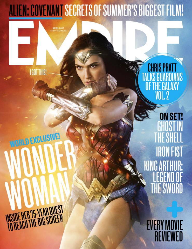 Mulher-Maravilha aparece em pose heroica em nova imagem da revista Empire!