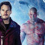Peter Quill e Drax aparecem em uma nova imagem de Guardioes da Galáxia Vol. 2