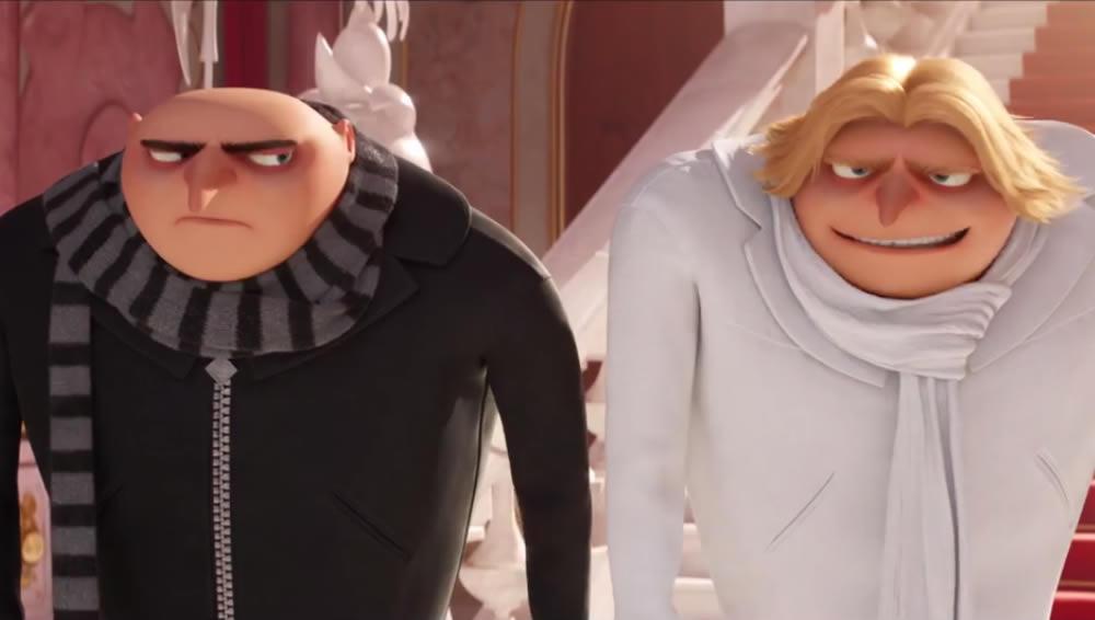 Irmão gêmeo do Gru aparece em novo trailer do Meu Malvado Favorito 3