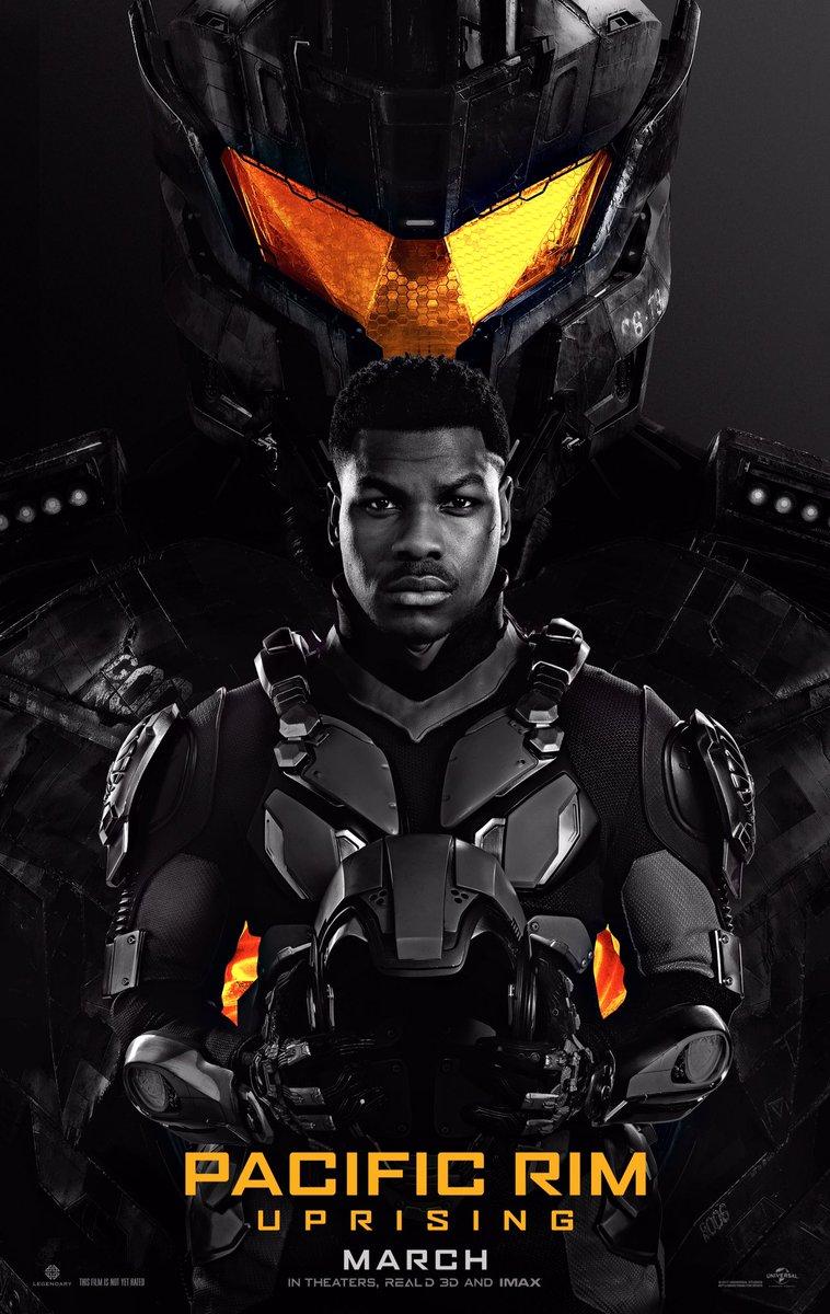 John Boyega e seu Jaeger aparecem em novo pôster de Círculo de Fogo 2!