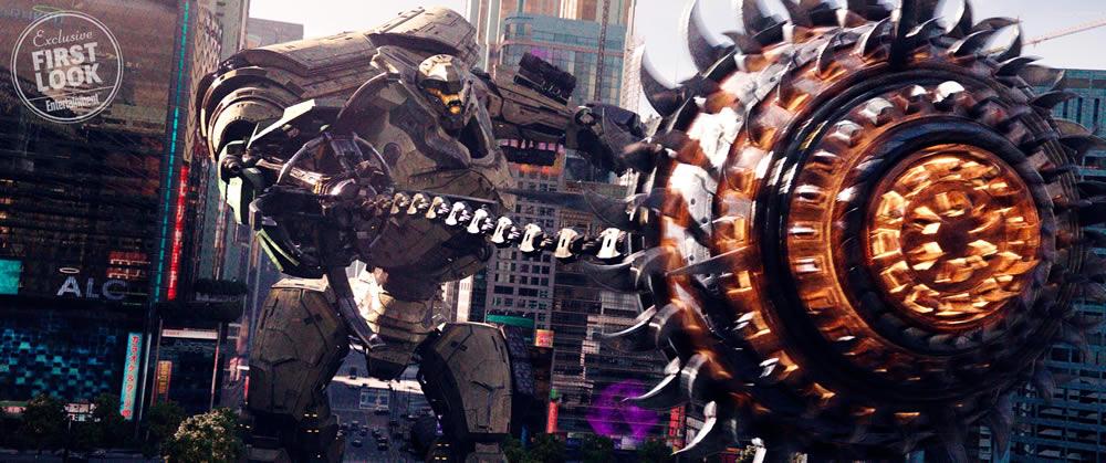 Entertainment Weekly divulga as primeiras imagens de Pacific Rim: Uprising!