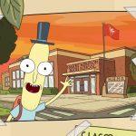 Divulgado um vídeo especial que mostra a origem do Sr. Bunda Cagada em Rick and Morty!