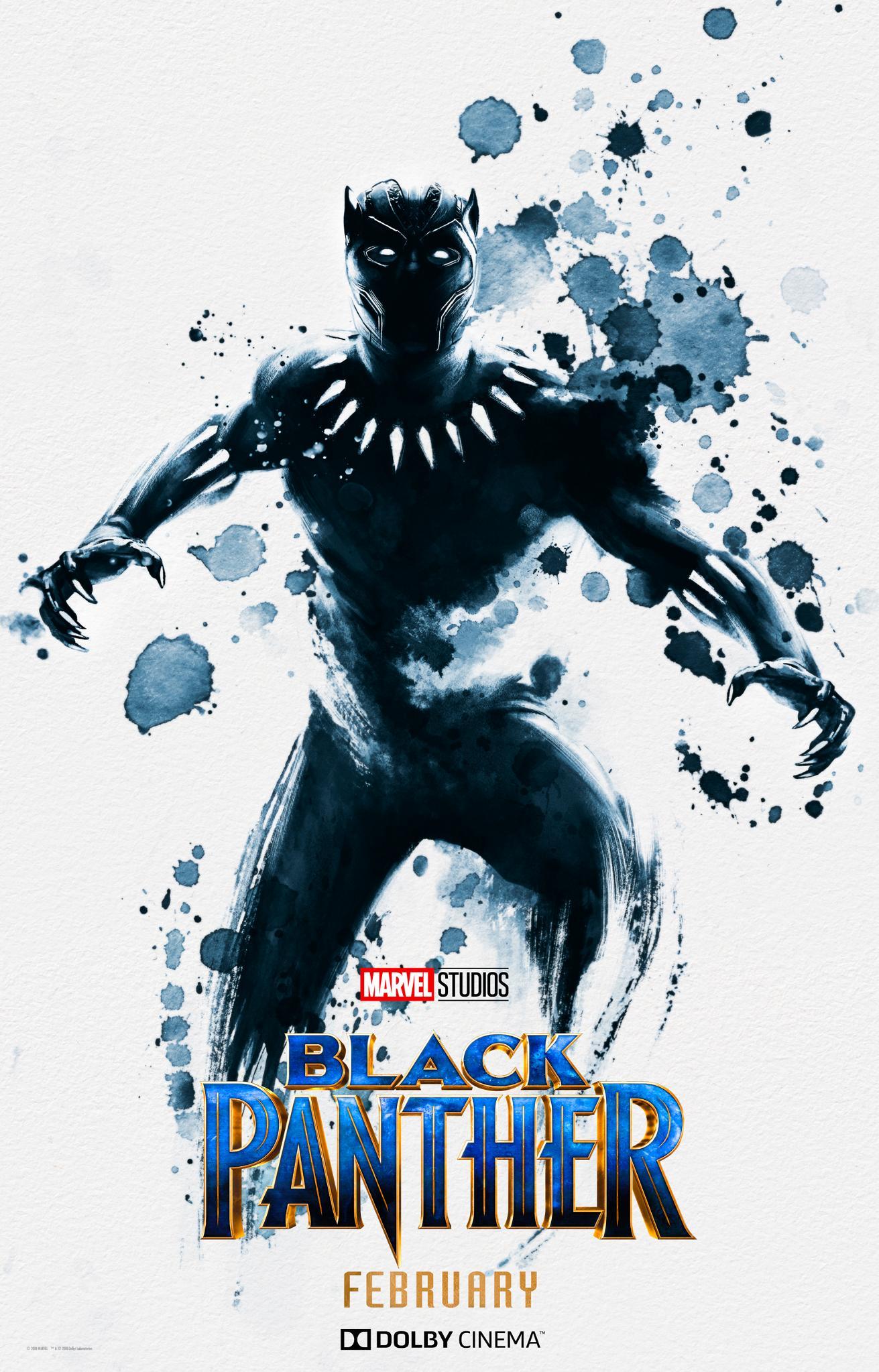 Pantera Negra ganha um incrível pôster exclusivo do Dolby Cinema!
