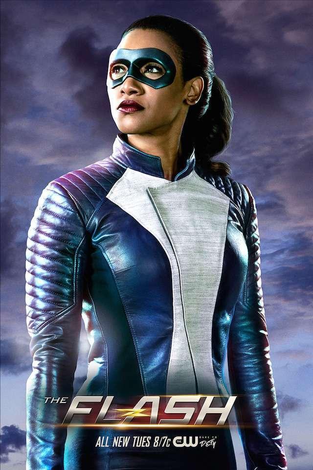 Divulgado a primeira imagem oficial da Iris West com o traje de super-heroína no The Flash!