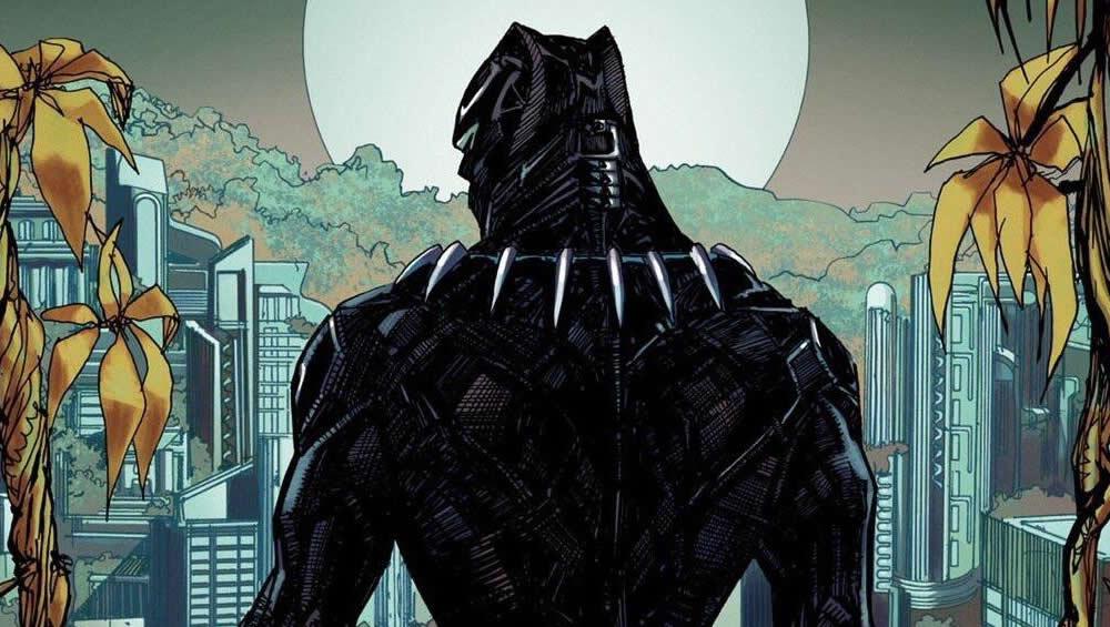 Pantera Negra observa Wakanda em um novo pôster da Mondo!