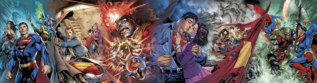 DC divulga as capas da nova minissérie do Superman escrita pelo Brian Michael Bendis!
