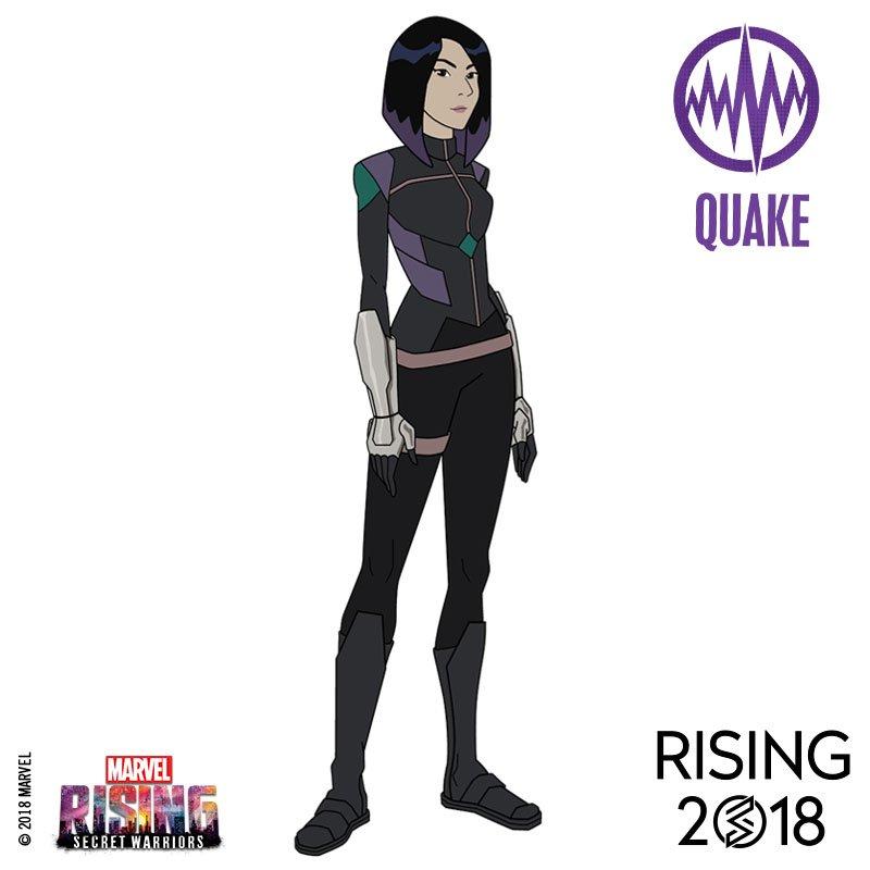Revelado os visuais dos heróis e das heroínas em Marvel Rising, novo filme animado da Marvel!