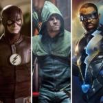 Arrow, The Flash, Supergirl, Legends of Tomorrow e Raio Negro