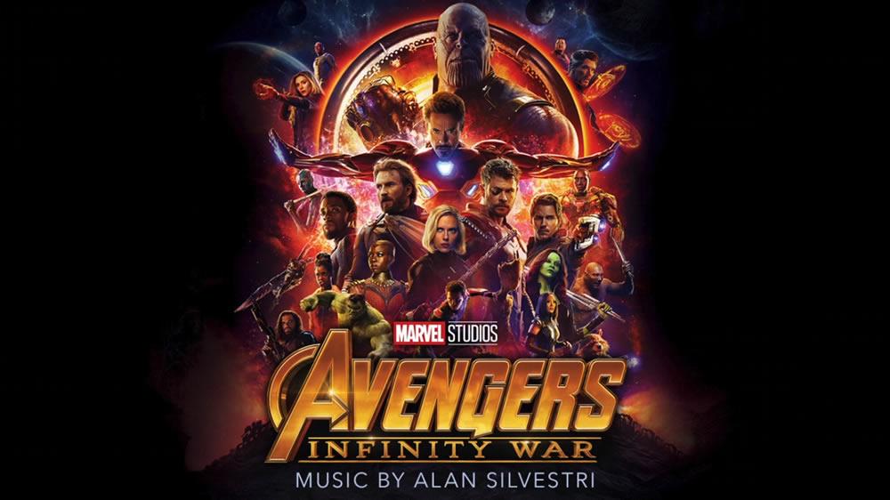 Ouça a trilha sonora completa de Vingadores: Guerra Infinita!