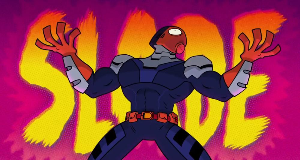 Exterminador zoa e convida os fãs para assistirem Deadpool em novo vídeo de Jovens Titãs Em Ação! Nos Cinemas