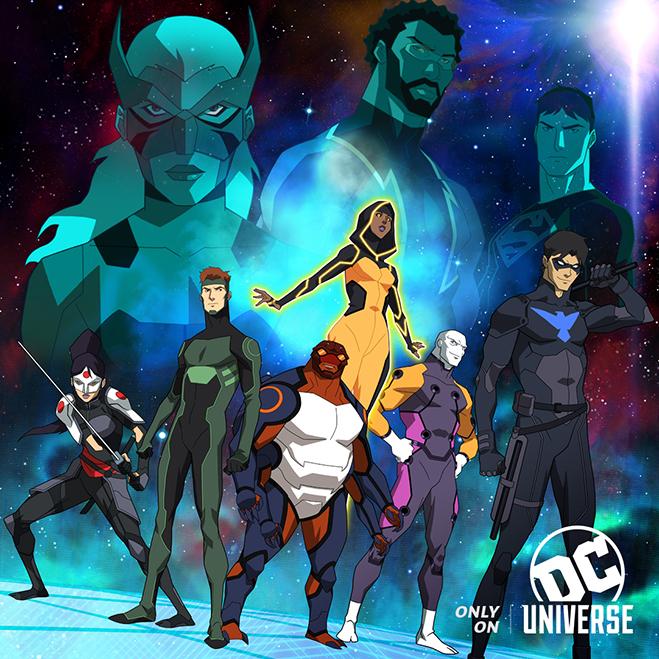Divulgado uma nova imagem oficial da terceira temporada de Justiça Jovem!
