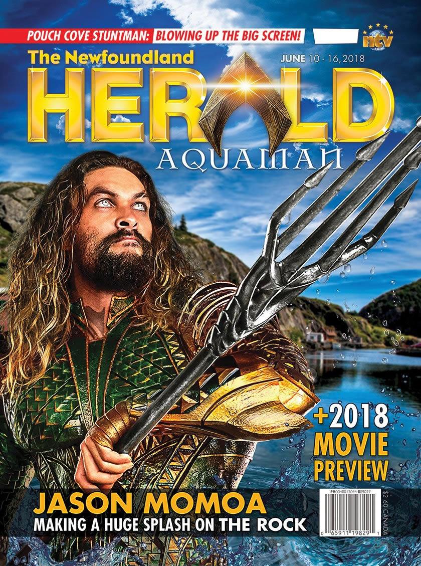 Novo foto do Aquaman é divulgada em capa de revista!