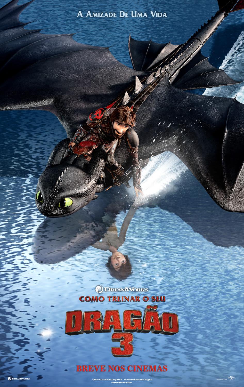 SAIU!!! Divulgado o primeiro trailer de Como Treinar o Seu Dragão 3!