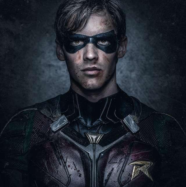 Divulgado novas imagens oficiais do Robin na série de TV dos Titãs!
