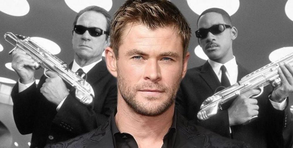 Divulgado as primeiras fotos do Chris Hemsworth no set do novo filme de MIB: Homens de Preto!