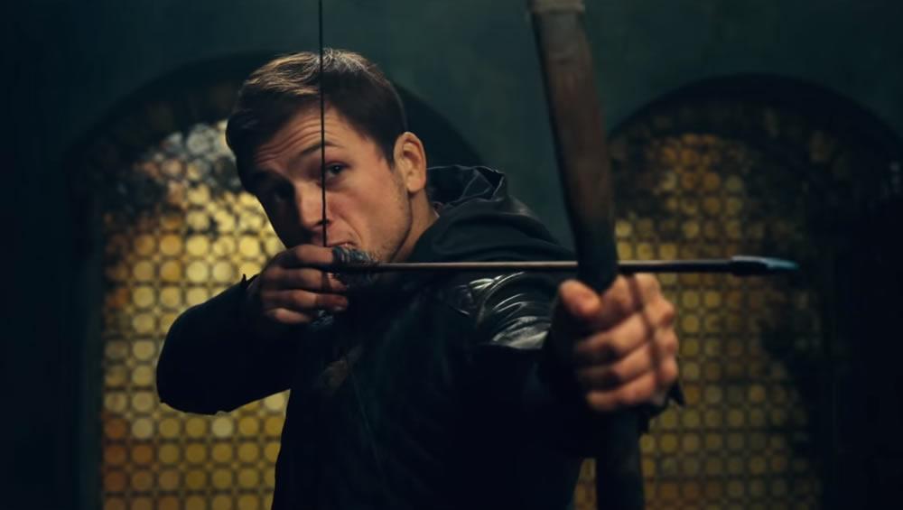 Divulgado um novo trailer de Robin Hood, filme protagonizado pelo Taron Egerton!