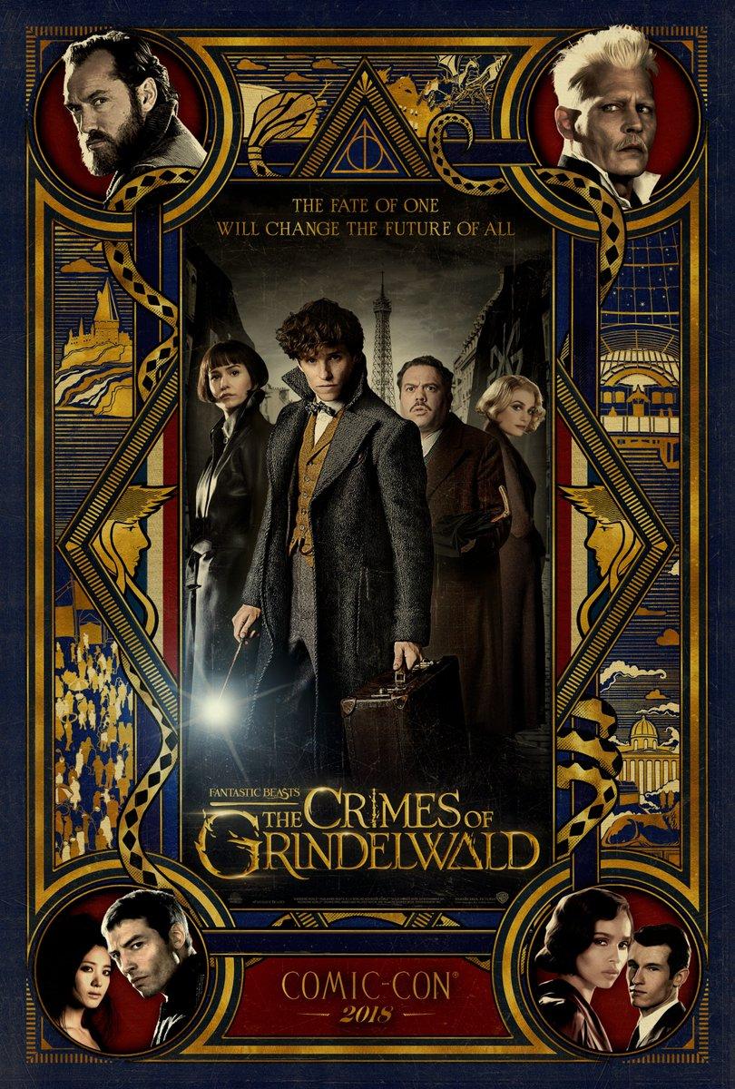 SAIU!!! Divulgado um novo trailer de Animais Fantásticos: Os Crimes de Grindelwald!