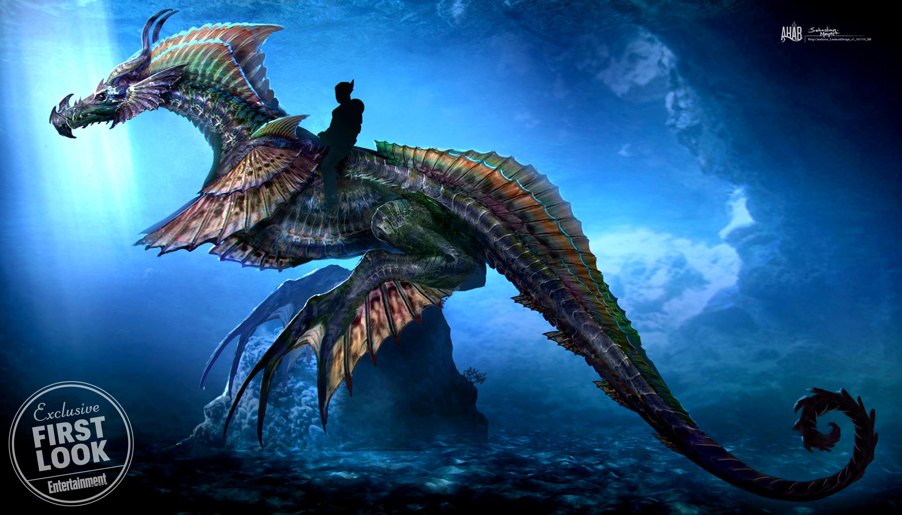 Jason Momoa estampa o primeiro pôster oficial do filme do Aquaman!
