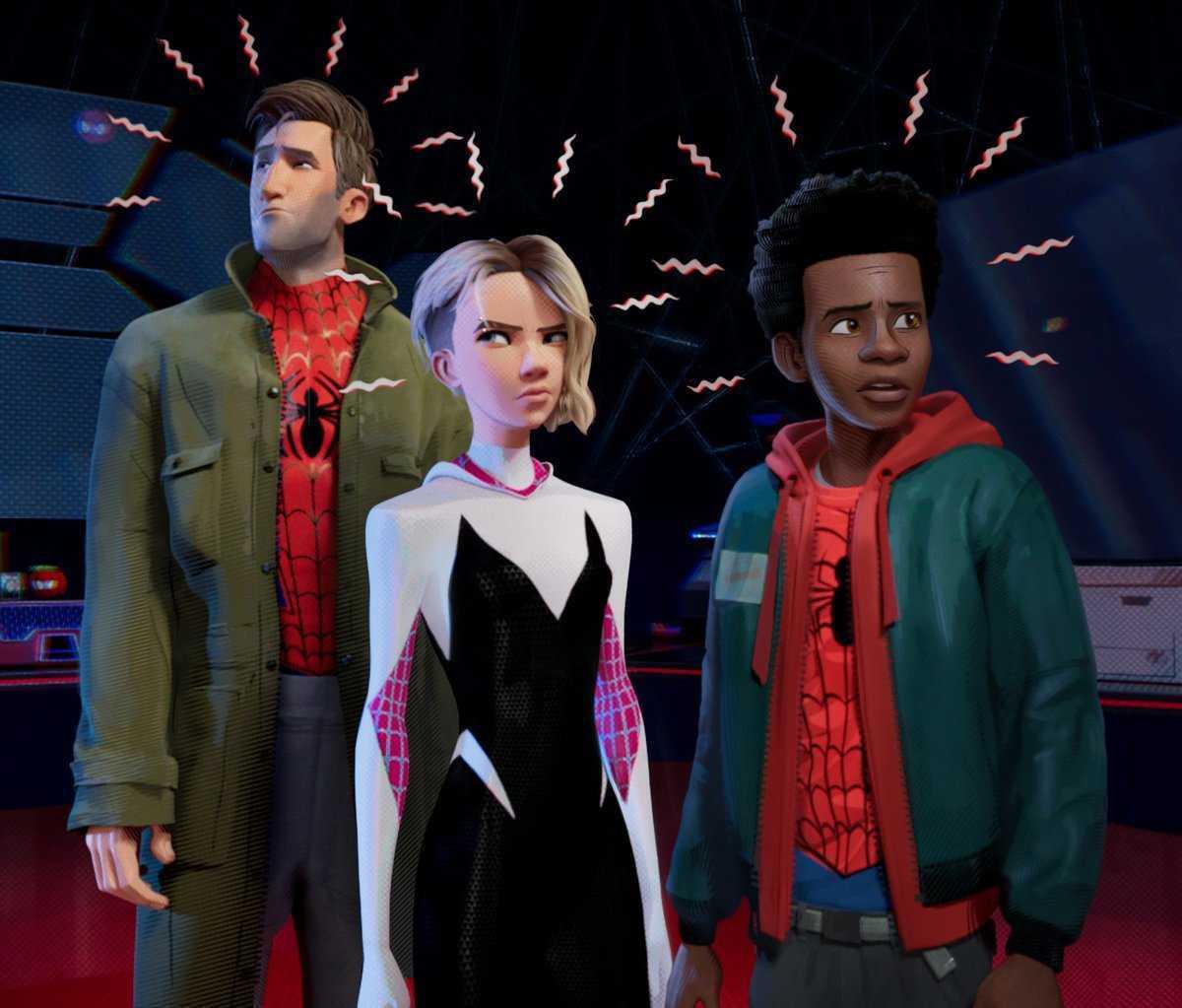 Peter, Miles e Gwen aparecem em nova imagem de Homem-Aranha no Aranhaverso!